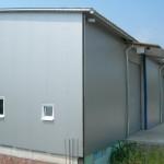 Доставка на покривни и фасадни панели за  склад на Клима комфорт в с. Леденик-3