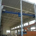 Доставка на покривни и фасадни панели за цех за заготовки на Буров ЕООД в гр. Варна
