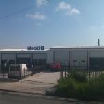 Доставка на покривни и фасадни панели на автосервиз