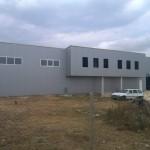 Доставка на покривни и фасадни панели на фабрика за мебели  в с. Тополи