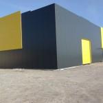 Доставка, на покривни и фасадни панели с полиуретан и поликарбонатни покривни панели за склад в гр. Шумен