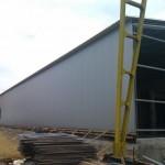 Доставка на покривни и фасадни термопанели за завод за бетонови изделия на Хидрострой АД в с. Тополи-4