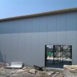 Доставка на покривни и фасадни термопанели за цех за производство на Полипринт в град Шумен-2