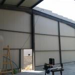Доставка на покривни и фасадни термопанели за цех за производство на Полипринт в град Шумен-3