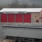 Доставка на покривни панели база на БКС Девня в гр. Девня