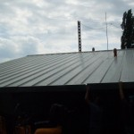 Доставка на покривни панели за обкт на пристанище Варна-2