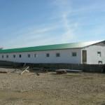 Доставка на покривни панели на свинекомплекс Екопиг 2006 в с. Тополи