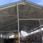 Доставка на покривни панели на склад в гр. Шумен