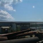 Доставка на покривни сандвич панели за реконструкция на покрив на монтажен цех на Хидрострой АД в с. Тополи