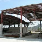 Доставка на покривни, фасадни и поликарбонатни панели за шоурум на Агротрон - М в гр. Търговище