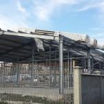Доставка на покривни, фасадни и преградни панели на склад за дограма и профили в с. Кичево