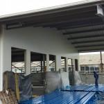 Доставка на покривни, фасадни и преградни панели на склад за дограма и профили в с. Кичево-2