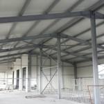Доставка на покривни, фасадни и преградни панели на склад за дограма и профили в с. Кичево-3