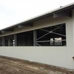 Доставка на покривни, фасадни и преградни панели на склад за дограма и профили в с. Кичево-4