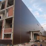 Доставка на фасадни панели с IPN изолация за хлебозавод Симид в гр. София-2