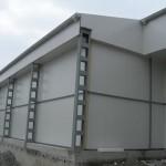 Доставка на фасадни, хладилни и преградни панели на транжорна на Гетико в гр. Търговище-2