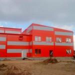 Доставка фасадни панели за фирма за реконструкция на старо хале в гр. София