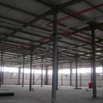 доставка на покривни и фасадни термопанели на НСКФ трейд - завод за кабели в гр. Айтос-2