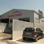 доставка на покривни и фасадни термопанели на автосервиз в гр. Варна-3