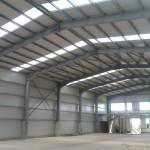 доставка на покривни, фасадни и поликарбонатни панели за склад на Косметикпак в с. Езерово-2
