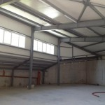 доставка на покривни, фасадни термопанели за производствено хале в ЗПЗ на гр. Варна-2